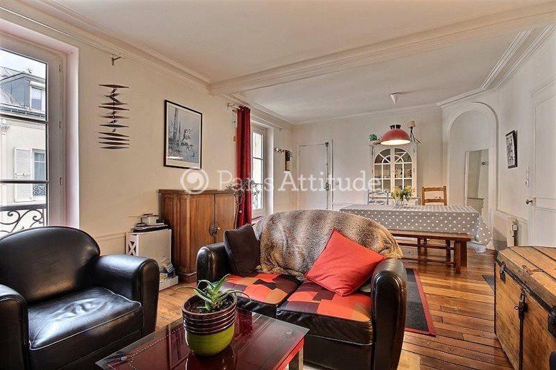 Rent furnished Apartment 1 Bedroom 55m² allee Verte, 75011 Paris