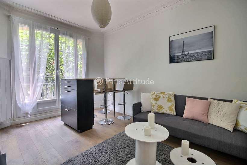Rent furnished Apartment 2 Bedrooms 50m² rue du Docteur Paquelin, 75020 Paris