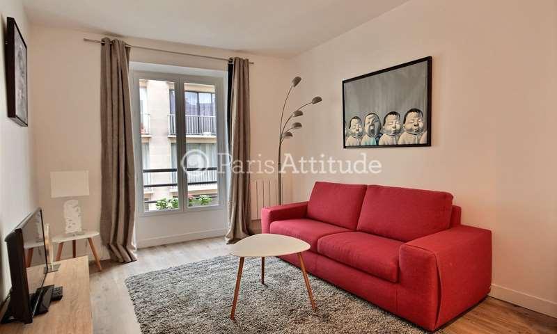 Rent Apartment 1 Bedroom 31m² rue Lauriston, 16 Paris