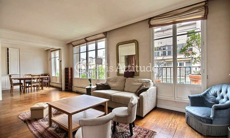 Rent Duplex 3 Bedrooms 113m² rue des Patures, 16 Paris