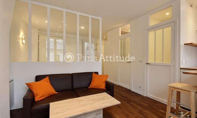 Location Appartement Alcove Studio 28m² rue Andre Del Sarte, 18 Paris