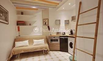 Rent Apartment Studio 15m² rue de Poitou, 3 Paris