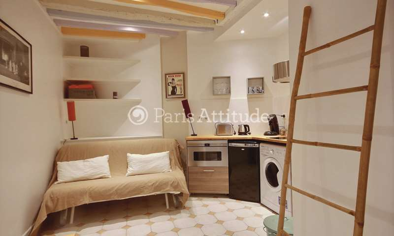 Location Appartement Studio 15m² rue de Poitou, 3 Paris