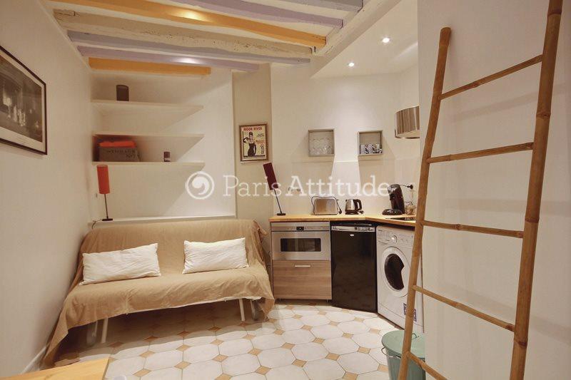 Louer Appartement meublé Studio 15m² rue de Poitou, 75003 Paris