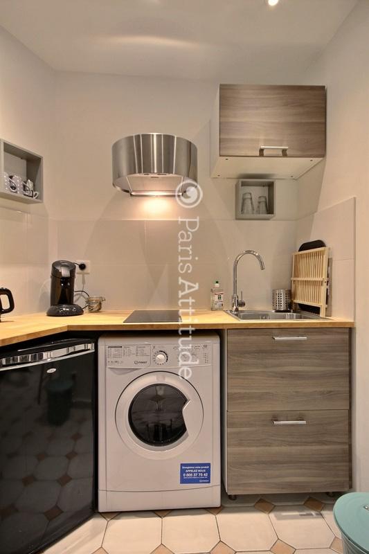 Rent Apartment in Paris 75003 - 15m² Le Marais - ref 12835