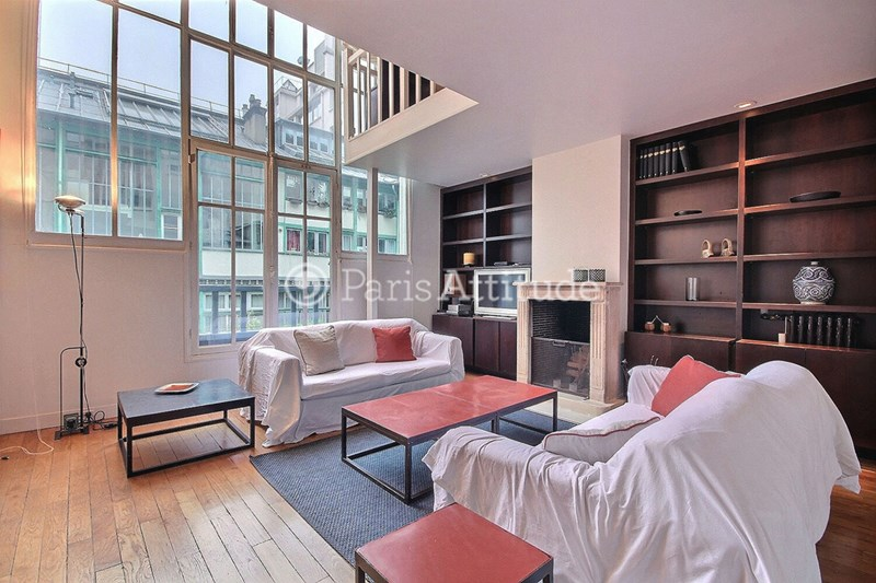 Rent Loft 3 Bedroom 114m² rue des Sablons, 75016 Paris