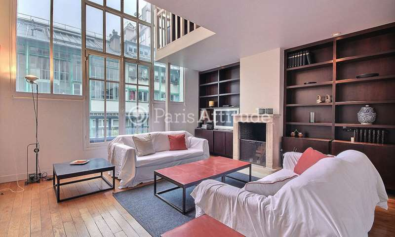 Rent Loft 3 Bedrooms 114m² rue des Sablons, 16 Paris