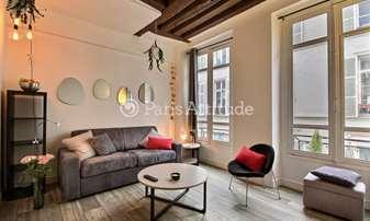 Rent Apartment Studio 19m² rue de Saintonge, 3 Paris