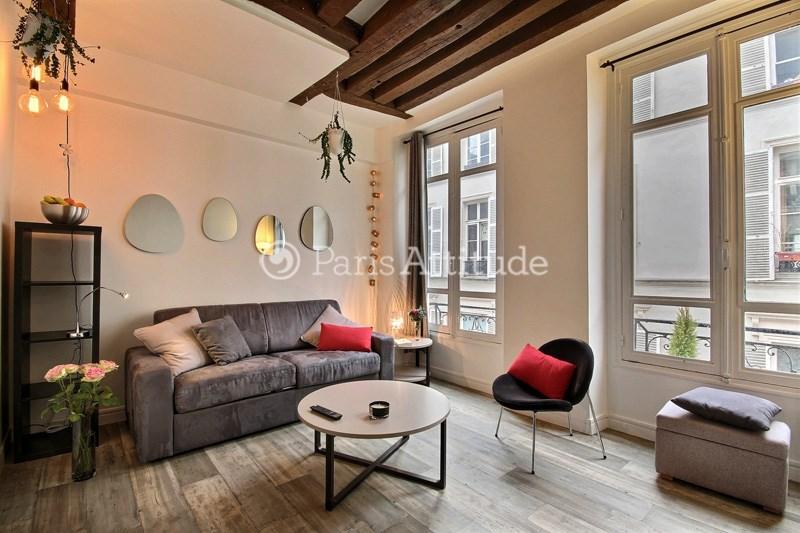Rent Apartment Studio 19m² rue de Saintonge, 75003 Paris