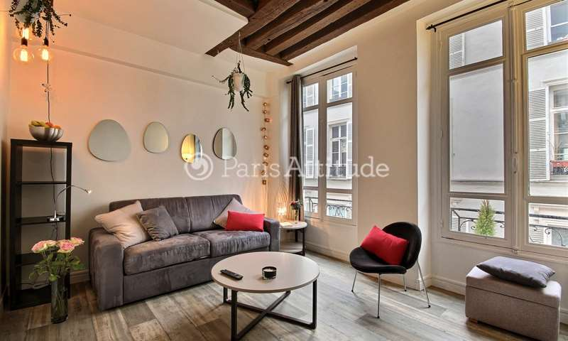 Rent Apartment Studio 19m² rue de Saintonge, 3 Paris