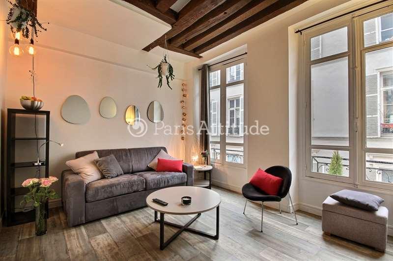 Louer Appartement meublé Studio 19m² rue de Saintonge, 75003 Paris