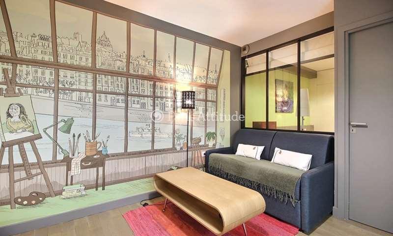 Location Appartement 1 Chambre 32m² rue de Coulmiers, 14 Paris