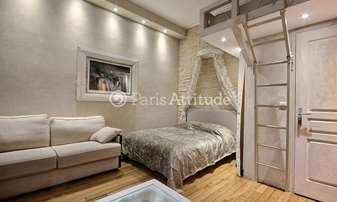 Rent Apartment Alcove Studio 31m² Quai de la Tournelle, 5 Paris