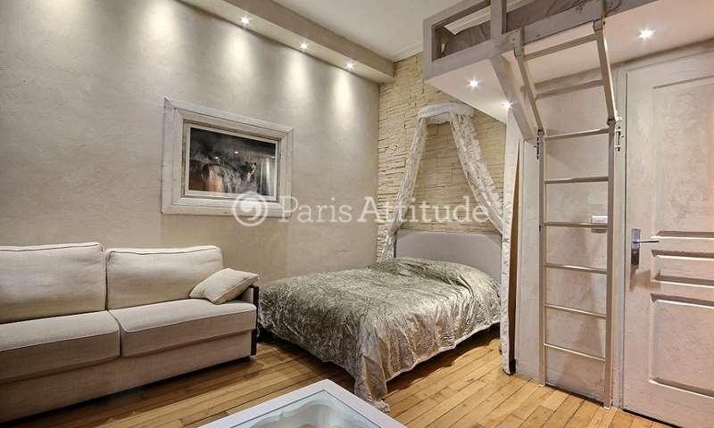 Location Appartement Alcove Studio 31m² Quai de la Tournelle, 75005 Paris