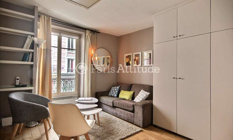 Rent Apartment Studio 28m² rue Paul Albert, 75018 Paris