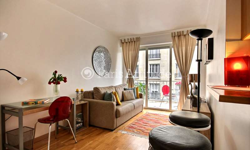 Rent Apartment Studio 23m² rue Desbordes Valmore, 75016 Paris