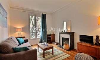 Rent Apartment 1 Bedroom 39m² Villa Armand, 18 Paris