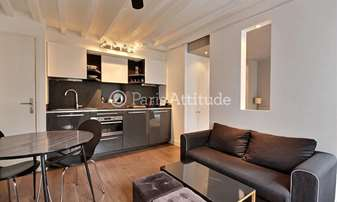 Rent Apartment Alcove Studio 26m² rue du Faubourg Poissonniere, 10 Paris