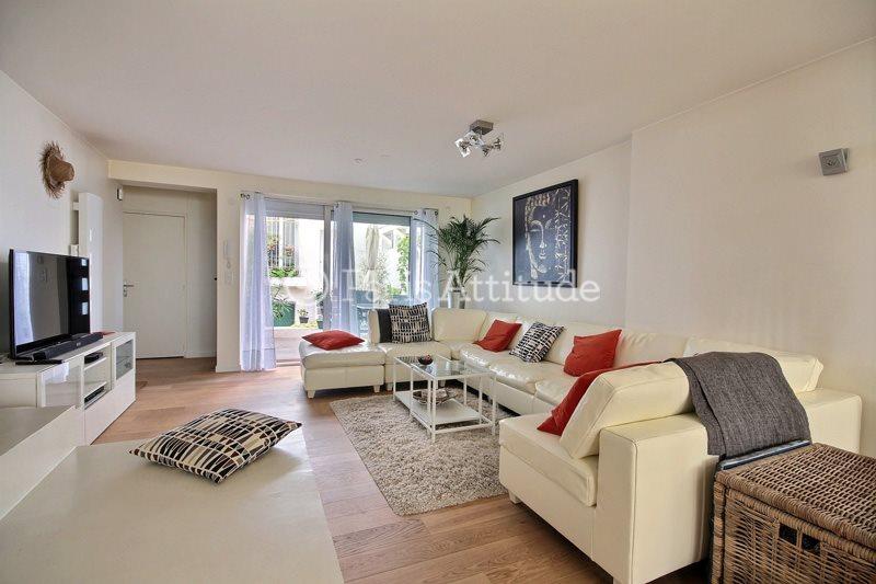 Rent furnished Duplex 2 Bedrooms 71m² rue du Volga, 75020 Paris