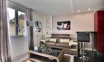 Rent Apartment Alcove Studio 34m² rue Robert Turquan, 16 Paris