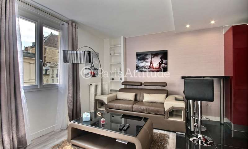Rent Apartment Alcove Studio 34m² rue Robert Turquan, 16 Paris