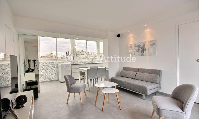 Rent Apartment 1 Bedroom 40m² rue de Courcelles, 17 Paris
