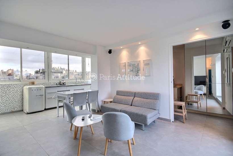 Rent furnished Apartment 1 Bedroom 40m² rue de Courcelles, 75017 Paris
