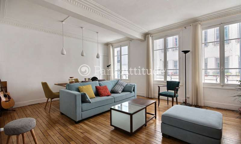 Rent Apartment 1 Bedroom 60m² rue du Faubourg Saint Martin, 10 Paris