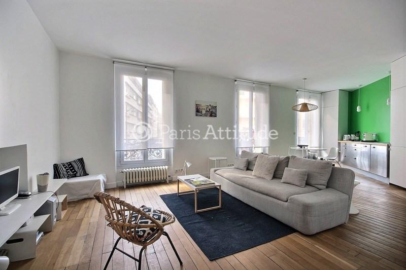 Rent Apartment 1 Bedroom 59m² rue du Buisson Saint Louis, 75010 Paris