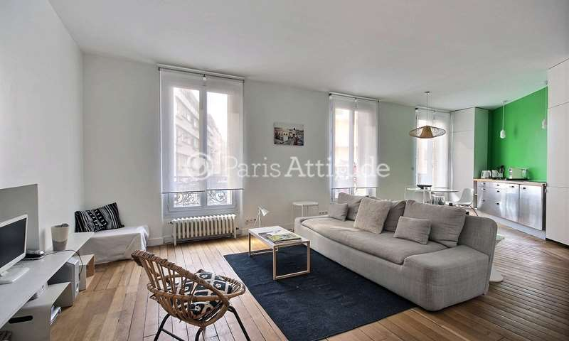 Rent Apartment 1 Bedroom 59m² rue du Buisson Saint Louis, 75010 Paris
