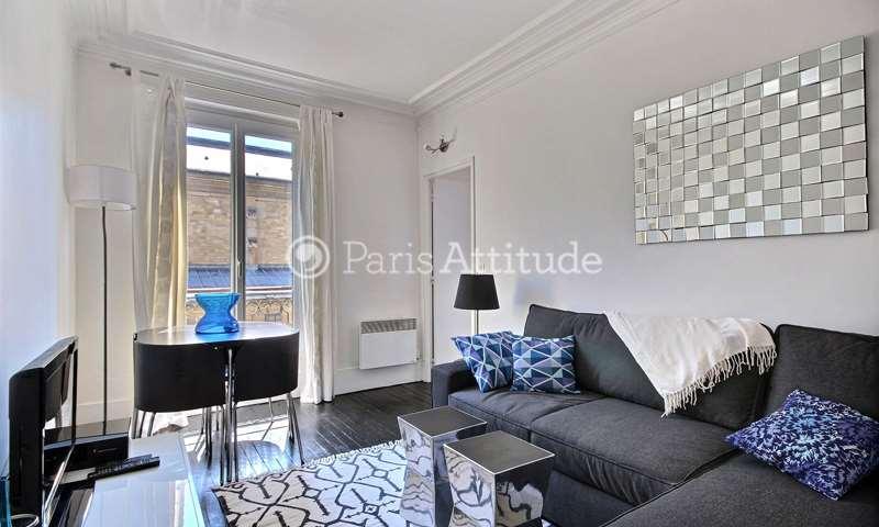Rent Apartment 1 Bedroom 34m² rue du Mont Cenis, 75018 Paris