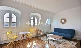 Rent Apartment 1 Bedroom 43m² boulevard Beaumarchais, 3 Paris