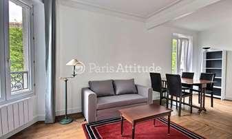 Rent Apartment 1 Bedroom 42m² Rond Point Rhin et Danube, 92100 Boulogne Billancourt