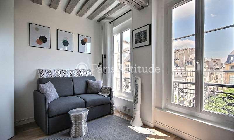 Location Appartement Studio 16m² rue Vieille du Temple, 3 Paris