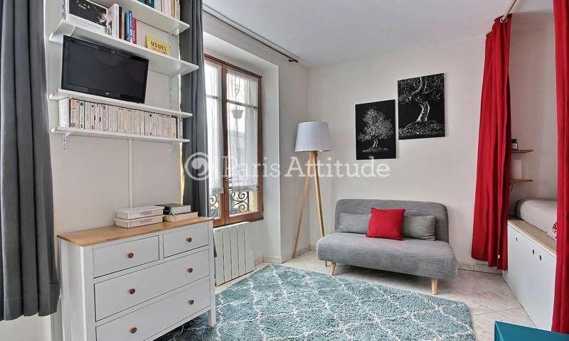 Rent Apartment Studio 23m² rue du Chevalier de la Barre, 75018 Paris