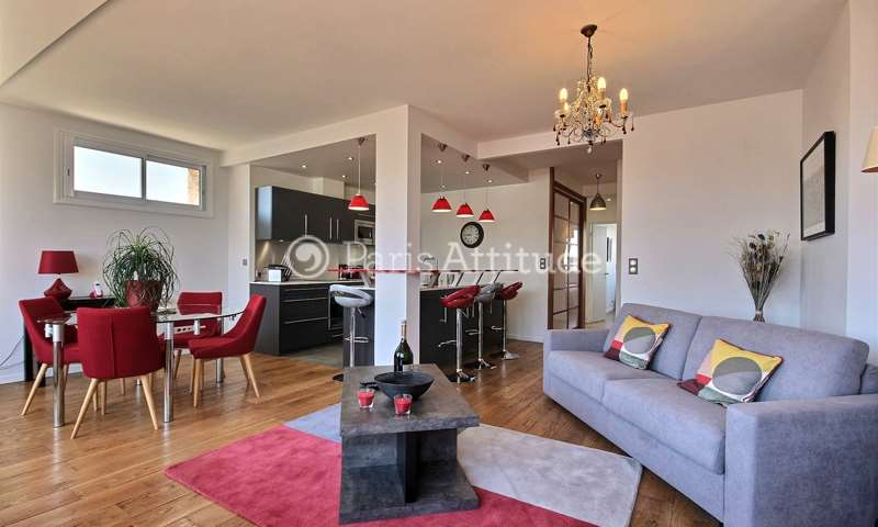 Rent Apartment 2 Bedrooms 84m² boulevard Saint Marcel, 5 Paris