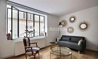 Rent Duplex 1 Bedroom 32m² rue de la Clef, 5 Paris
