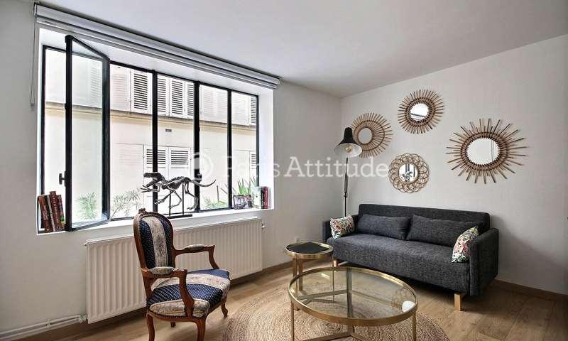 Rent Duplex 1 Bedroom 32m² rue de la Clef, 75005 Paris