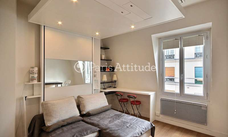 Rent Apartment Studio 22m² rue du Temple, 3 Paris