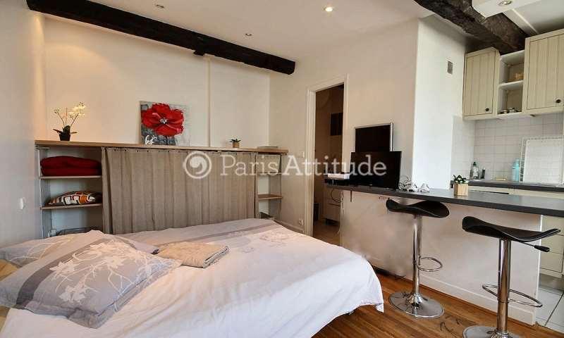 Rent Apartment Studio 24m² rue de la Verrerie, 75004 Paris