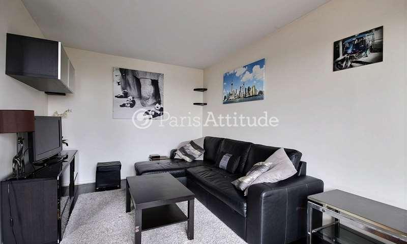Rent Apartment 1 Bedroom 50m² rue Arthur Rozier, 75019 Paris
