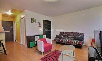 Rent Apartment Studio 35m² rue Louise Thuliez, 19 Paris