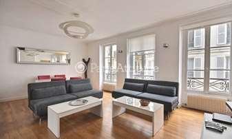 Rent Apartment 2 Bedrooms 57m² rue Gavarni, 16 Paris