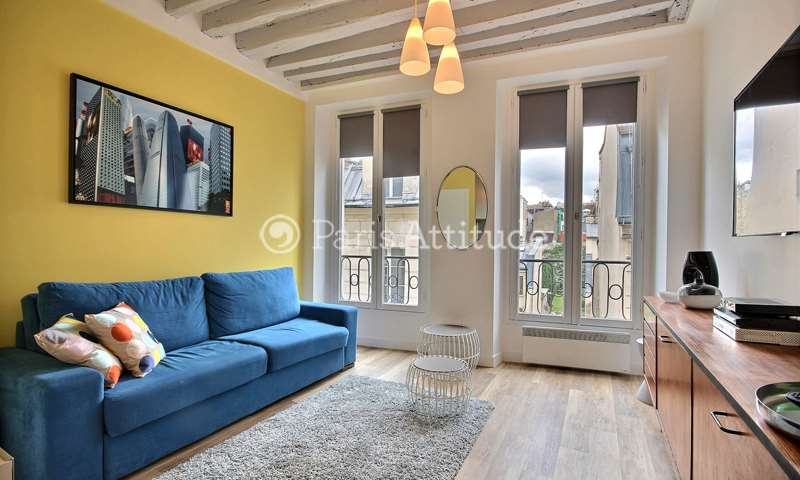 Rent Apartment Studio 17m² rue Volta, 3 Paris