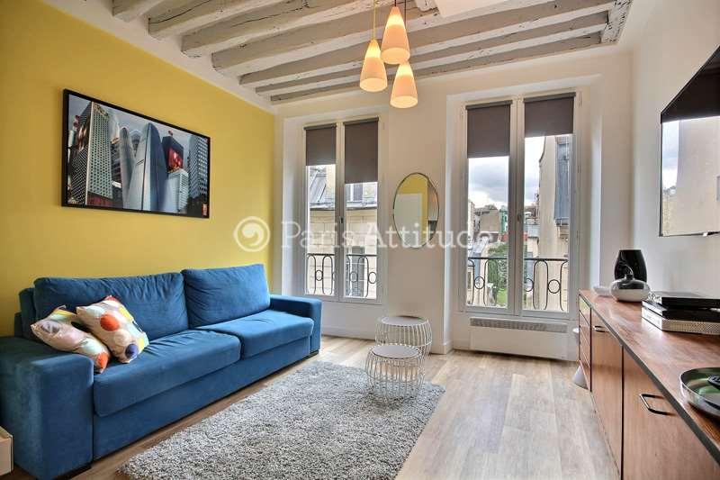 Louer Appartement meublé Studio 17m² rue Volta, 75003 Paris
