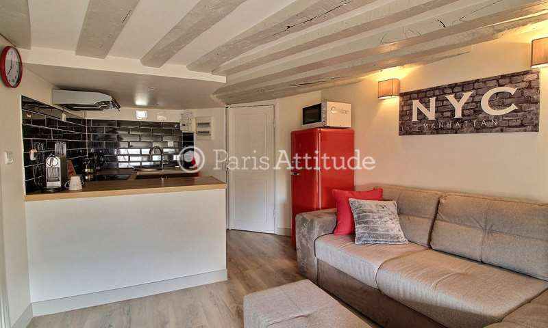 Rent Apartment 1 Bedroom 28m² rue du Mail, 75002 Paris