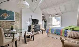 Rent Apartment Studio 28m² rue de Turenne, 3 Paris