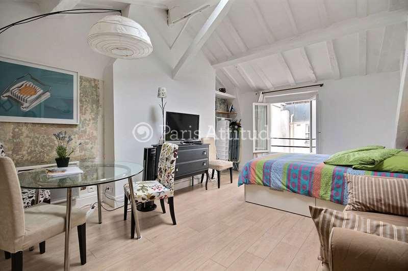 Louer Appartement meublé Studio 28m² rue de Turenne, 75003 Paris
