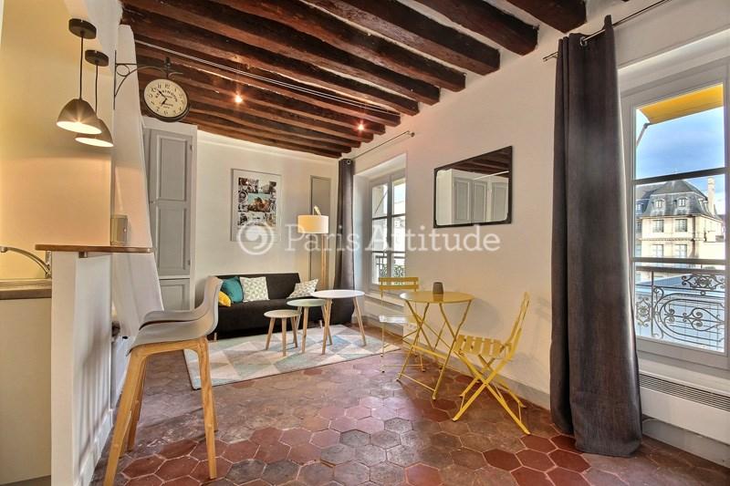 Location Appartement Studio 25m² rue Vieille du Temple, 75003 Paris