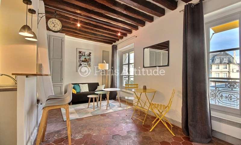 Location Appartement Studio 25m² rue Vieille du Temple, 3 Paris